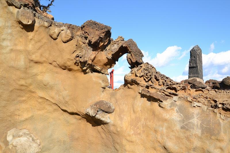 奇岩の鳥居