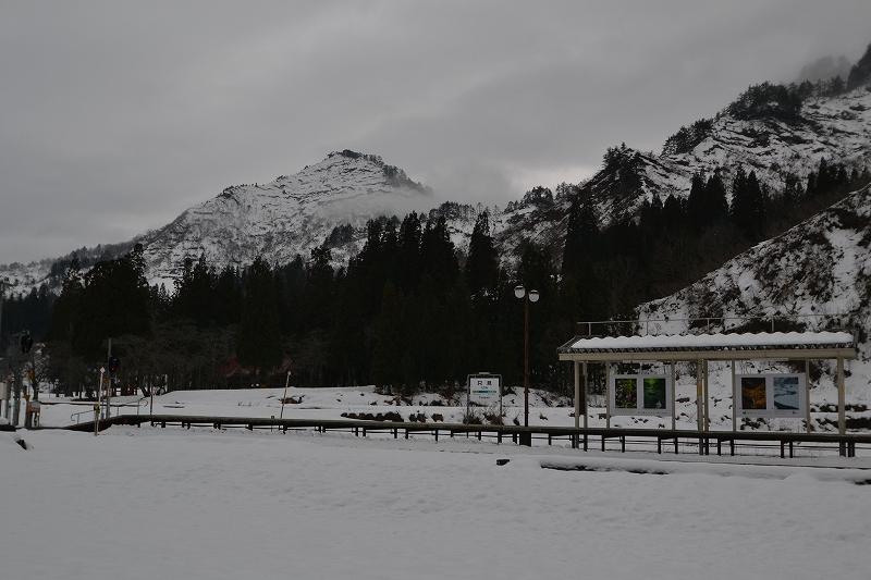 雪の只見ホーム